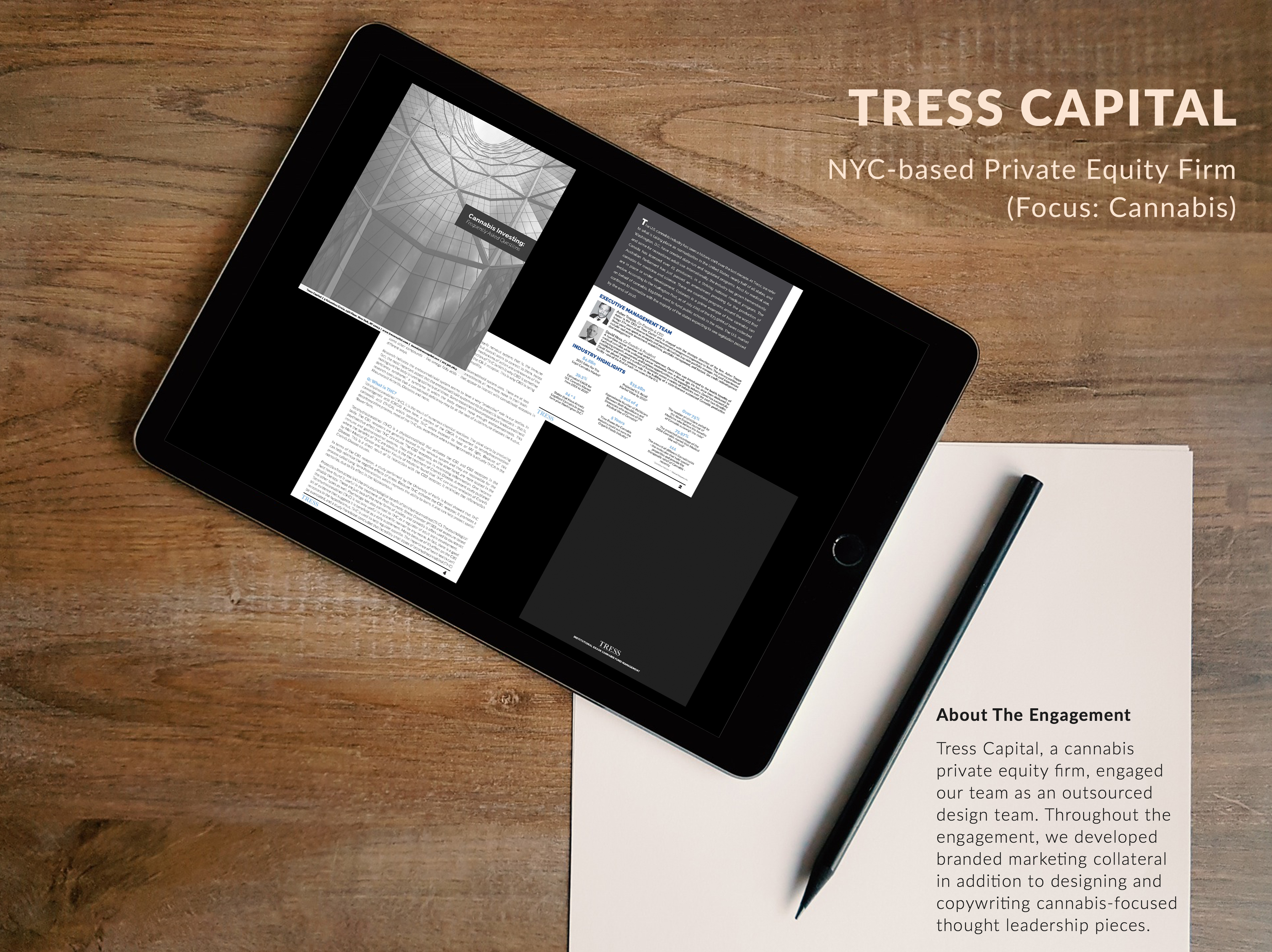 Design Services | CreativeCap Advisors